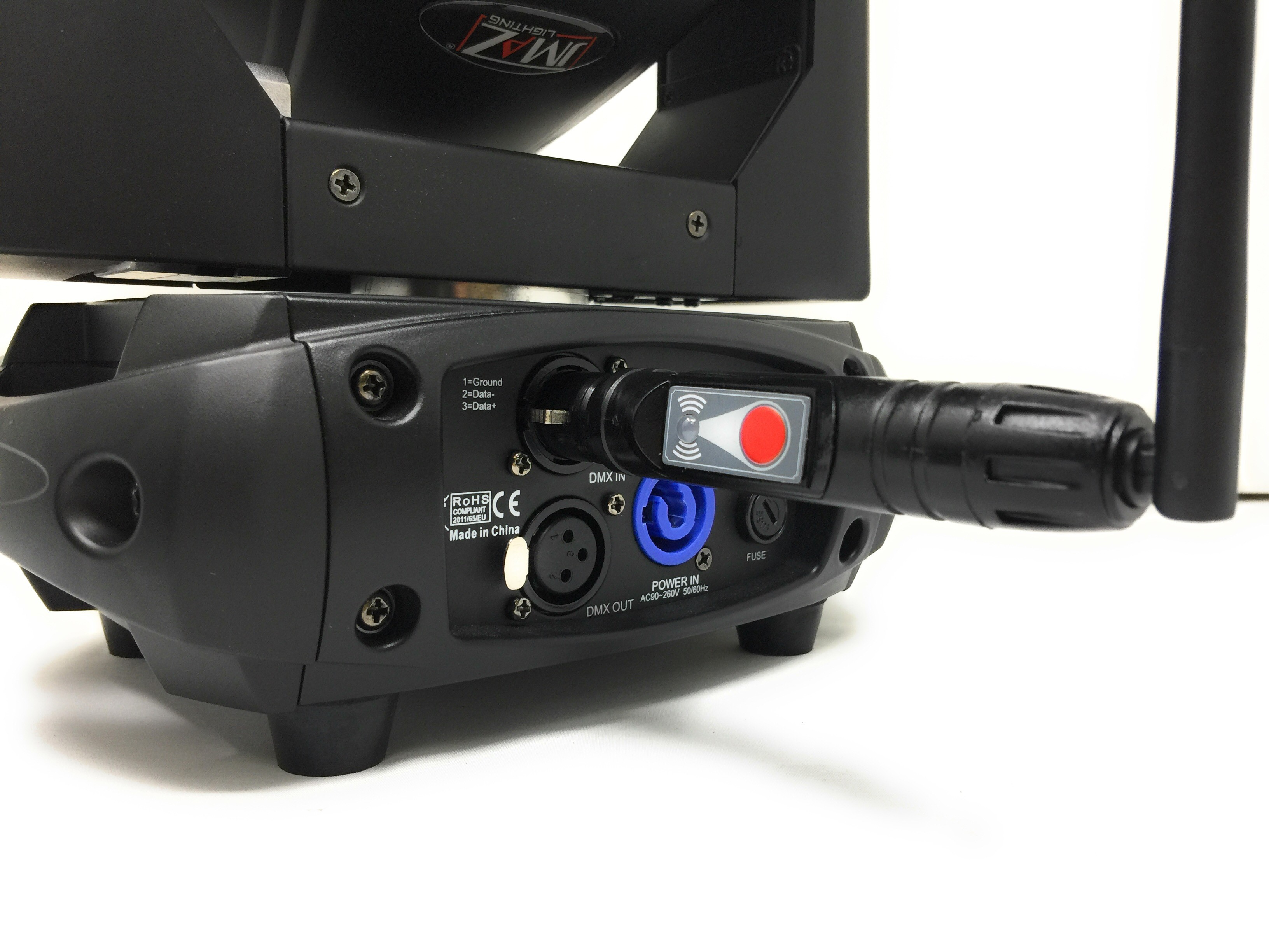 Wi-MAZ Wireless DMX Transceiver – JMAZ on fuse box art, fuse world, fuse demo review,